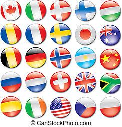 iconos de bandera