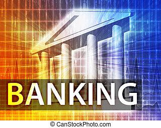 Ilustración bancaria