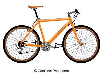 Ilustración de bicicleta.