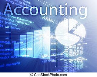 Ilustración de contabilidad