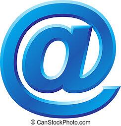 @, imagen, símbolo, internet