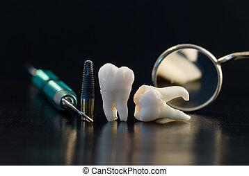 Implante de titanio dental
