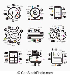 infographic, tecnología