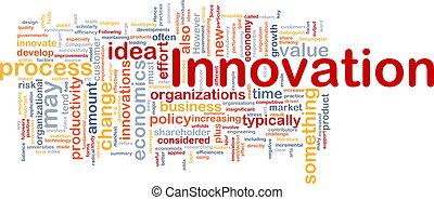 Innovación del concepto de fondo de negocios