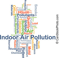 interior, aire, concepto, plano de fondo, contaminación