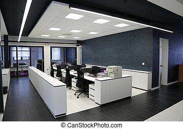 Interior de oficina moderna