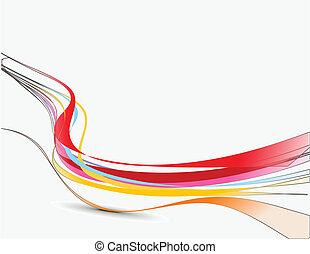 Línea de ondas