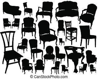 La colección de sillas