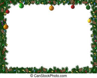 La frontera de Navidad