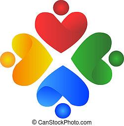 La gente del corazón logo