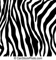 La huella de Zebra