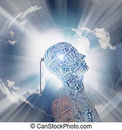 La mente tecnológica