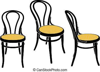 La silla del café de Viena