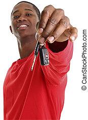 Las llaves del auto