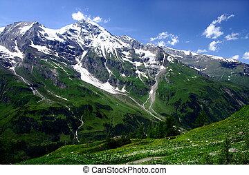 Las montañas de Austria