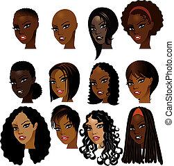 Las mujeres negras se enfrentan