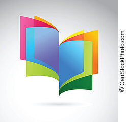libro, icono