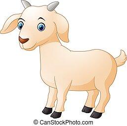 Lindo dibujo de cabra