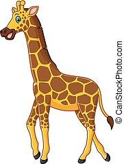 Lindo dibujo de jirafa