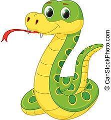 Lindo dibujo de serpiente