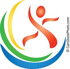 Logotipo de figura
