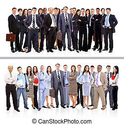 Los jóvenes y atractivos empresarios, el equipo de élite