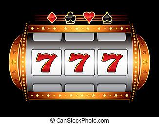 máquina, casino
