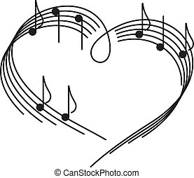 Música de amor.