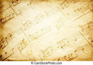 Música de vintage