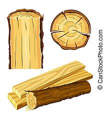 Madera material madera y tabla