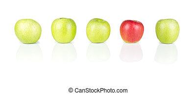 Manzanas rojas y verdes - 01