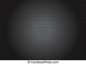 Materia de fibras de carbono, vector