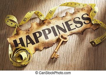 Midiendo el concepto de felicidad