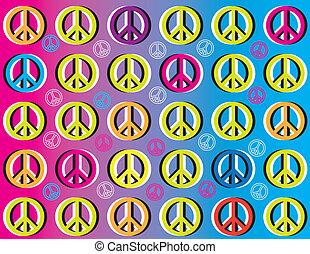 Movimiento de paz (Ilusión de movimiento)