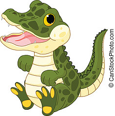 Mujercita cocodrilo
