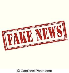 news-stamp, falsificación