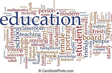 Nube de educación