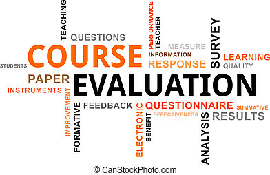 Nube de palabras, evaluación del curso