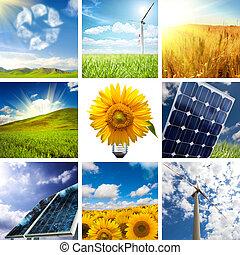 Nuevo collage de energía