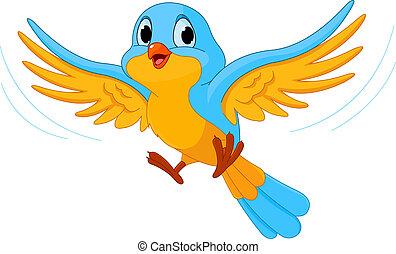 Pájaro volador