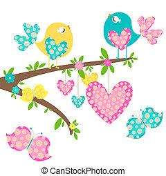 Pájaros de primavera