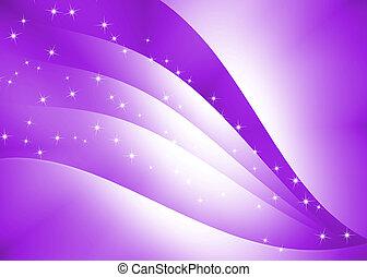 púrpura, resumen, curva, plano de fondo, textura