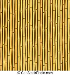 Pantalla de bambú, fondo de textura