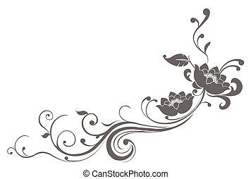 Patrón de flores de loto