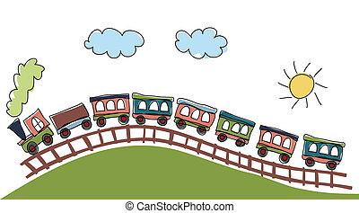 Patrón de tren