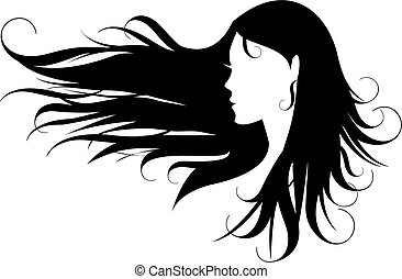 pelo, negro