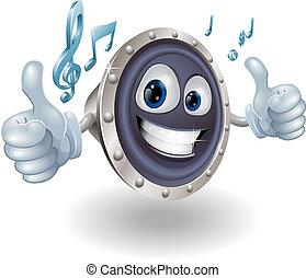Personaje de audio musical