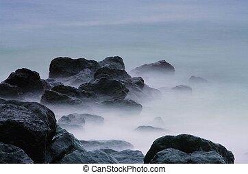 Piedras en el surf 01