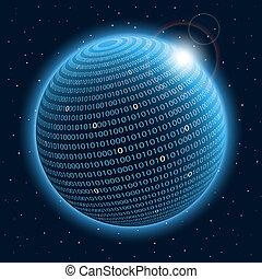 planeta, tecnología