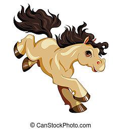Pony marrón